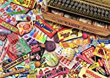 Posterazzi Vintage Candy Shop Poster Print by Aimee Stewart, (18 x 9)