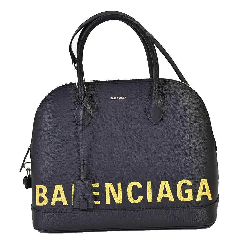 手荷物なる円形(バレンシアガ) BALENCIAGA ハンドバッグ ブラック [並行輸入品]