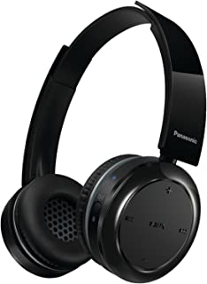 Panasonic Wireless Bluetooth On-Ear Stereo Headphones with Mic/Controller RP-BTD5-K (Black) 40 hours of Playback, Powerful Sound