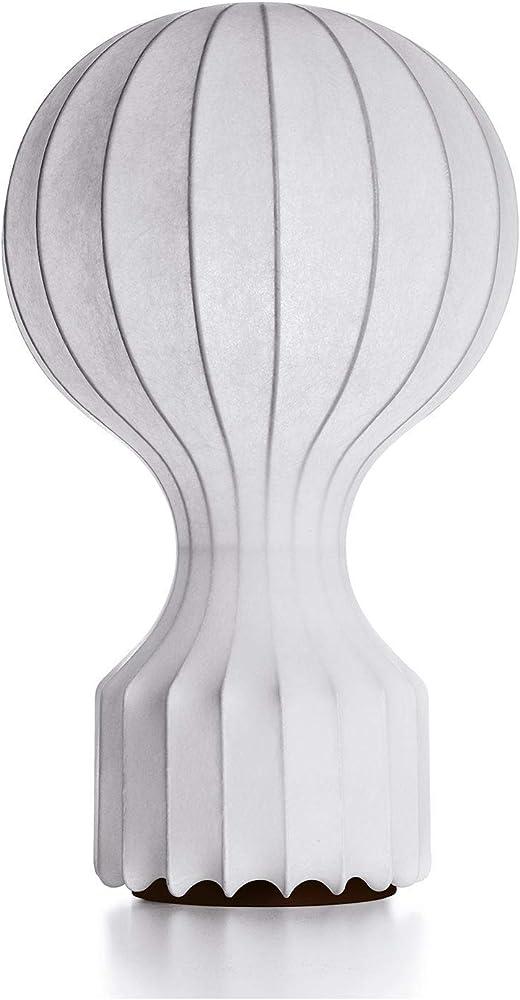 Flos gatto new ed.05 eu, fibra di resina, bianco,Paralume ,lampada F2601009