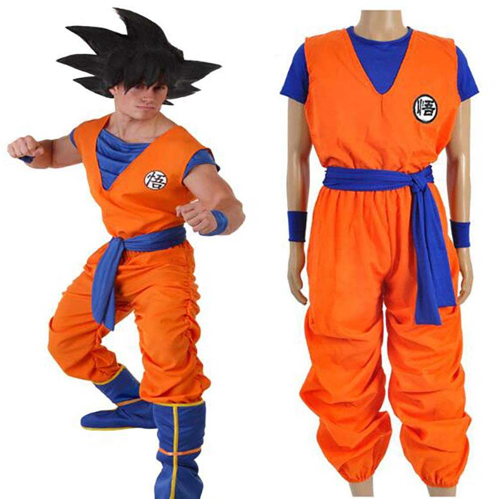 SHIXUE Disfraz Cosplay Dragon Ball Son Goku Adulto Disfraz De ...