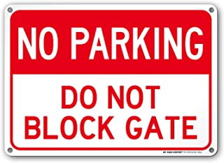 do not block driveway sign lowes