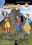 APT 4 - Misterio en Chichén Itzá: Misterio en Chichen Itza + Free audio download (book 4) (Lecturas - Adolescentes - Aventuras para 3 - Nivel A1-A2)