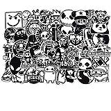 Aufkleber Decals(100 Stück),Dekorative Aufkleber Graffiti Sticker Decals Vinyls für Laptop,Kinder,KühlschrankAutos,Motorrad,Skateboard Gepäck,Bumper Sticker Hippie Aufkleber Bomb...