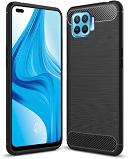 ALSAFWAH Case For Oppo F17 Pro, Slim Fit Ultra-Thin Case Soft TPU Non-Slip Bumper Protection Cover [Scratch Resistant] wit...