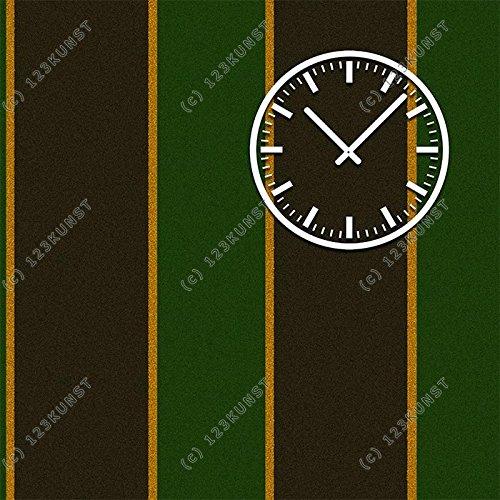 Heller DIXTIME Horloge murale, Horloges, horloge logement moderne - 50 x 50 cm
