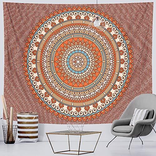 KHKJ Tapiz de Mandala para Colgar en la Pared, Manta de Playa de Arena, Manta, Tienda de campaña, colchón de Viaje, cojín de Dormir Bohemio, tapices A4 150x130cm
