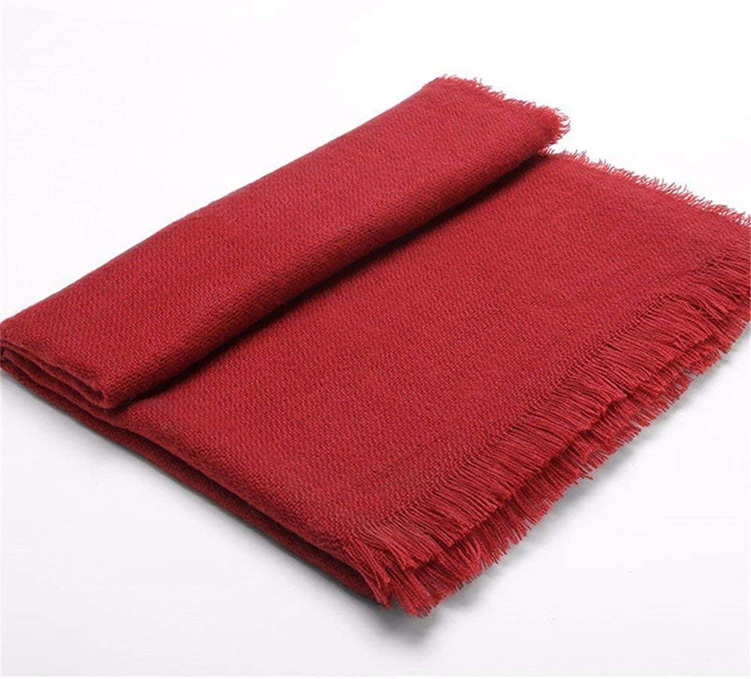 Dequanrong ScarfMadam Autumn And Winter Are Very Warm. Shawl And Scarf Are Both Comfortable Skin Fashion Scarf for Women