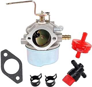USPEEDA Carburetor For Coleman Powermate Maxa 5000 ER Plus 10hp Tecumseh Generators PM0525202 PM0525312 Carb Gasket Kit