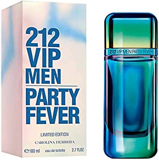 212 Vip Men Party Fever by Carolina Herrera Limited Edition for Men 100ml
