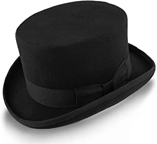 low crown top hat