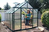 Grandio: Ascent 8x8 Greenhouse Kit - 6mm Twin-Wall Polycarbonate