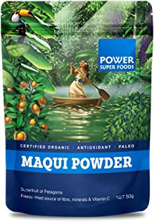 Power Superfoods Organic Maqui Powder 50 Grams