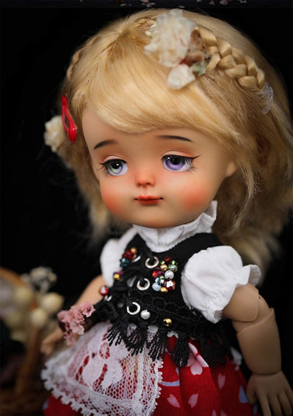 NIHE 1/8 SD Smart Doll BJD Dolls16 Inch 13 Ball Jointed Doll DIY