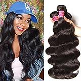 Nadula Hair 8a Best Quality Brazilian Body Wave Virgin Hair Extensions 3 Bundles 20 22 24 Brazilian Wavy Unprocessed Human Hair Weave Natural Color