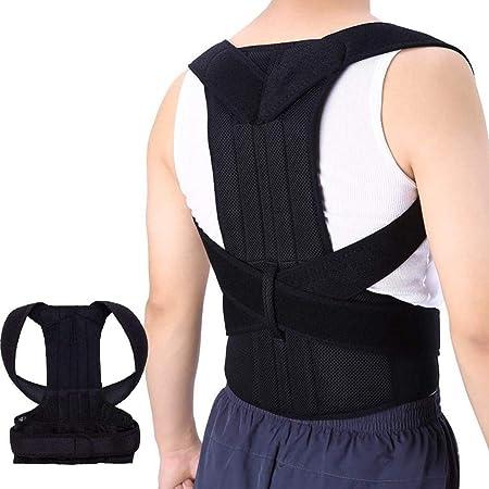 VELI Corrector de Postura Ajustable Soporte de la Espalda y Alivio del Dolor de Espalda, Mejorar la Postura para Mujer y Hombre, Unisex, Mejora la Calidad de Vida…