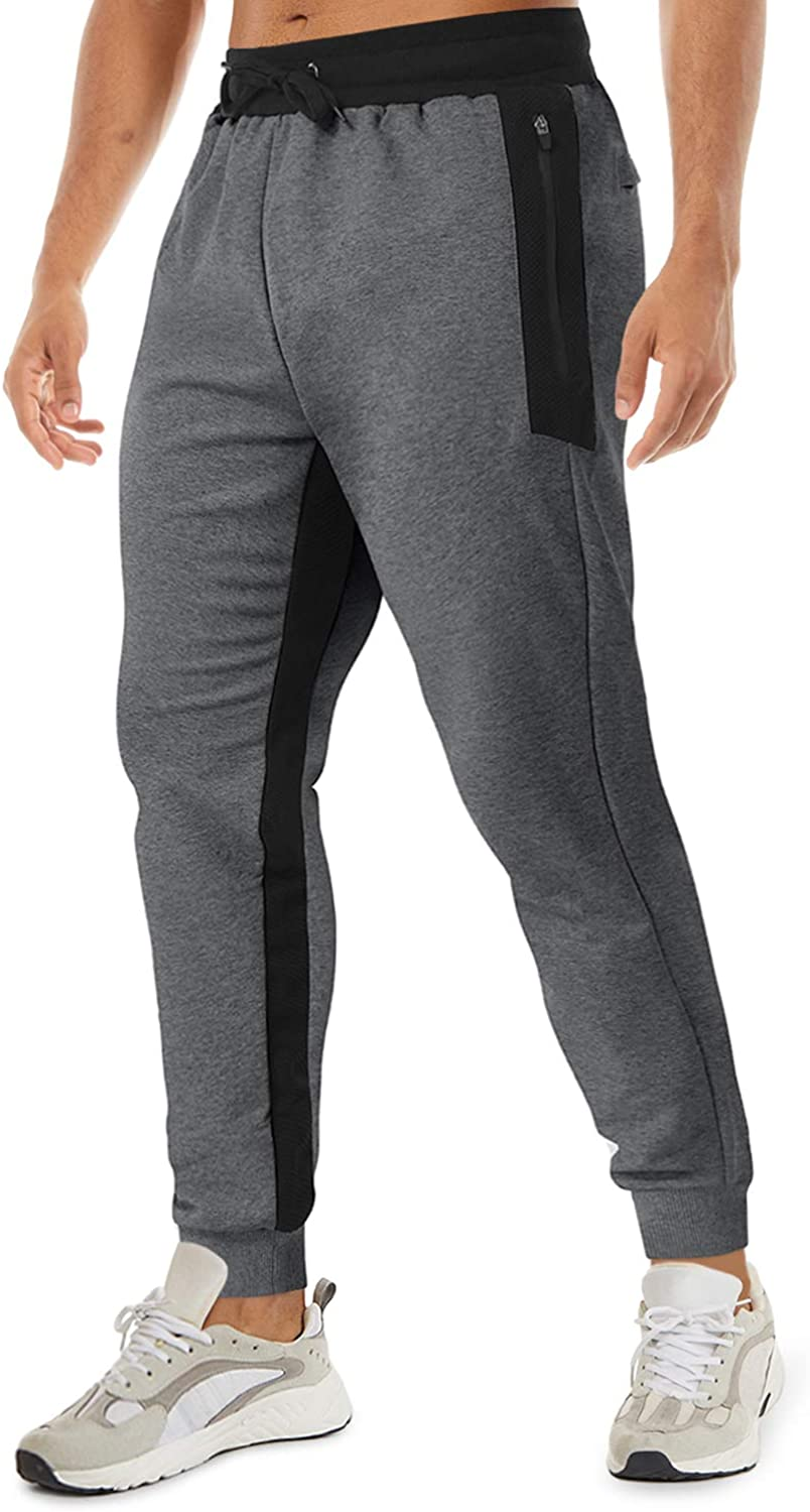TACVASEN Men's Jogger Pants Active Workout Sweatpants wi Portland Mall Limited price Running