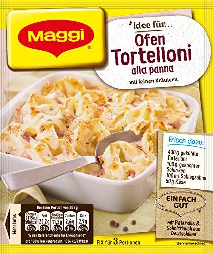 Maggi fix & frisch für Ofen Tortellini, 36er Pack (36 x 36 g)