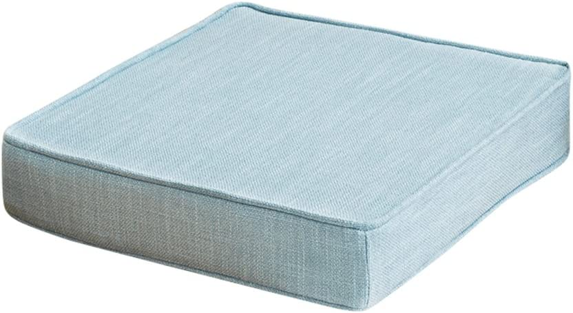 PPDD Square Ranking TOP13 Chair Seat Pad Cushion Solid Breathable Linen Ultra-Cheap Deals
