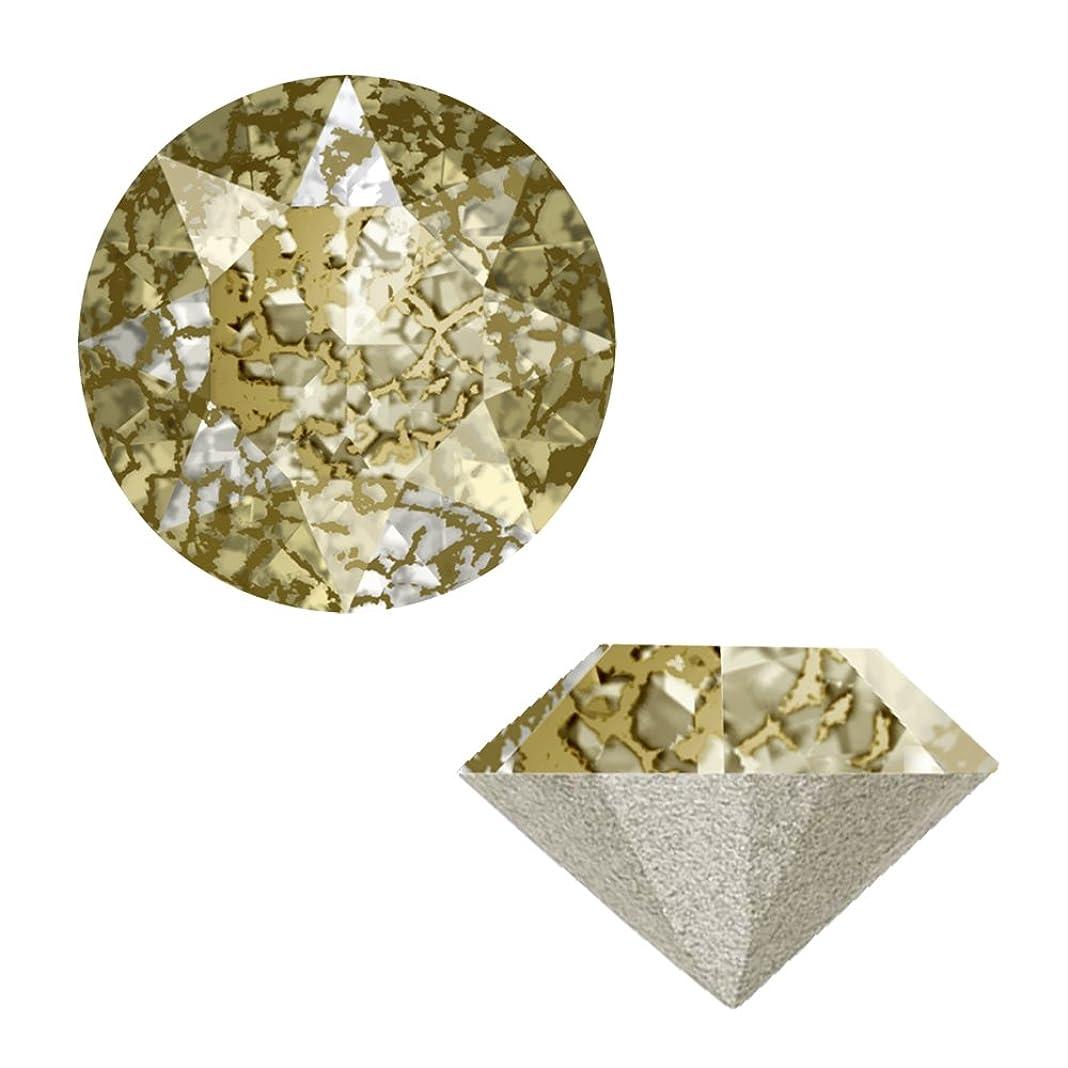 流行している付属品大きなスケールで見るとSWAROVSKI ELEMENTS VカットSS24 ゴールドパティナ 6P