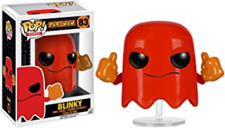 Funko Blinky: Pac-Man x POP! Games Vinyl Figure & 1 PET Plastic Graphical Protector Bundle [#083 / 07641 - B]