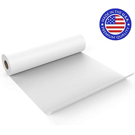 22.5 * 1000cm White Kraft Arts Paper Roll Paper Sketching Paper Engineering Drawing Paper for Paints Wall Art Smilcloud 2 Pcs Drawing Paper Roll Fadeless Bulletin Board Paper