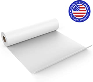 USA White Kraft Arts and Crafts Paper Roll, 18 Inch x 150 Ft, Fits Most Standard Kids Easels, Wall Art, Fadeless Bulletin Board Paper, Gift Wrapping Paper and Kids Crafts - Made in USA