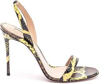 AQUAZZURA Luxury Fashion Womens SNUHIGS0SNEFDYYELLOW Yellow Sandals | Spring Summer 19