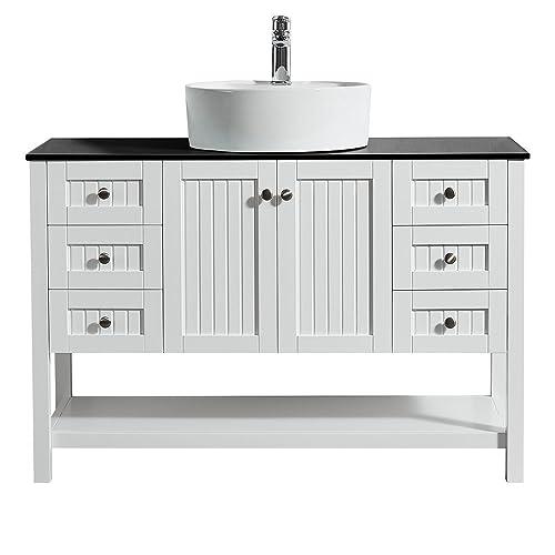 Vinnova Bathroom Vanity: Amazon com
