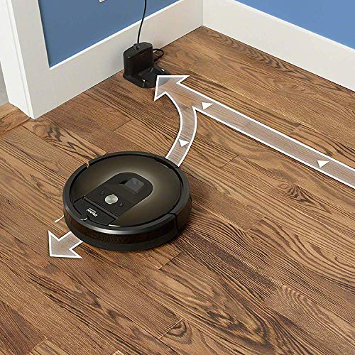 iRobot Roomba 980 Wi-Fi Connected Vacuuming Robot (Renewed)