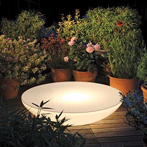 EEC A++, Moree Table basse Lounge Variation Outdoor - Avec éclairage