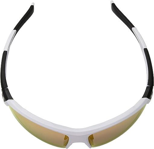 Satin White/Black Frame/Orange Baseball Tuned Lens