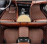 Kanredi Car Floor mat, Custom Full Fit All-Weather 3D Covered Car Carpet FloorLiner Floor Mats for Tesla Model 3 (Coffee, Tesla Model X)