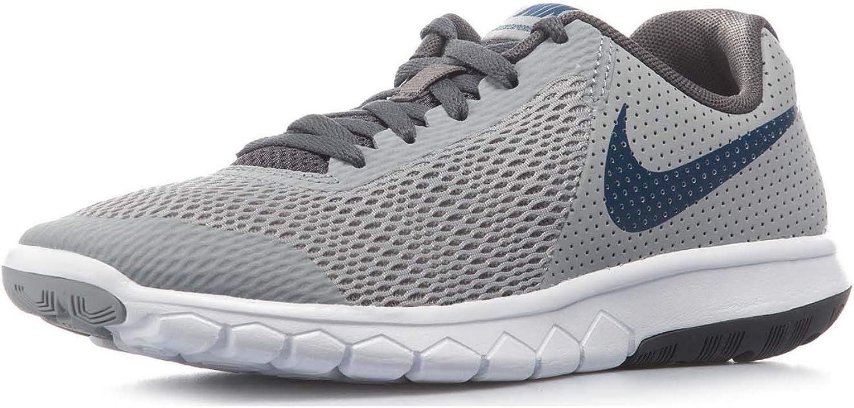 Nike Flex Experience 5 5 5 (GS) Pojkar skor Wolf  grå   Gym blå - Dark grå (5 Y US)  världsberömd försäljning online