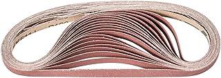 12 Length x 1//2 Width Aluminum Oxide A Pack of 10 PFERD 49024 Abrasive File Belt 36 Grit