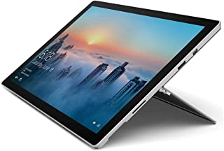 Microsoft Tablet Surface Pro 4 (2736 x 1824) 6 generación (Intel Core i5-6300U, 8GB Ram, 256 GB SSD, Bluetooth, Doble cámara) Windows 10 Professional (Renewed)