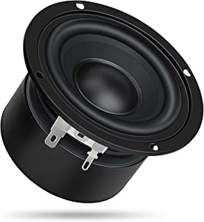 "DROK 4"" 8 Ohm Full-Range Stereo Audio Speakers, 40W Portable HiFi Speakers DIY Loudspeaker Woofer for Desktop Computer Car..."