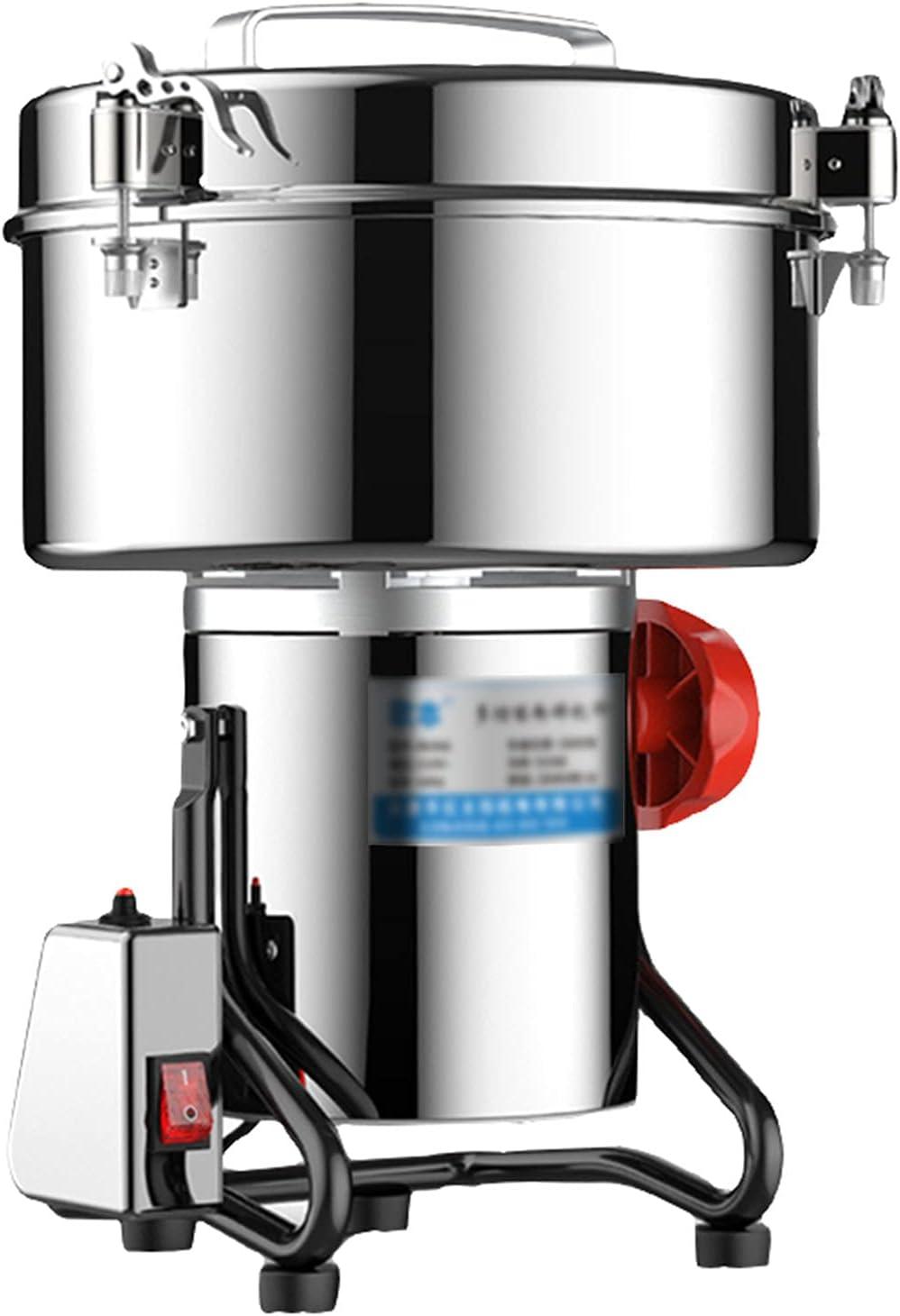 Grain Grinder 4500g large grinder 5000W Powder M unisex commercial Mill Very popular