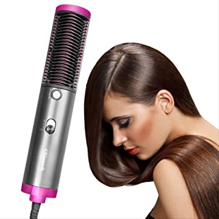 ECHOU Secador de Pelo Cepillo de Aire Caliente rápido secador de Pelo 4 Iones Negativos peluquería Volumizer Plancha Curler Styler Peine