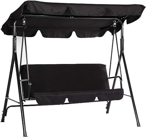 Esright Outdoor Patio Swing Chair, Canopy Swing - Best Garden Swings for Adults
