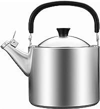 KETTLES Keuken Gas 304 Rvs Automatische Fluitje 3.5L Huishoudelijke Gas Inductie Kookplaat Zilver XMJ