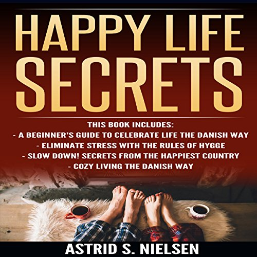 Happy Life Secrets audiobook cover art