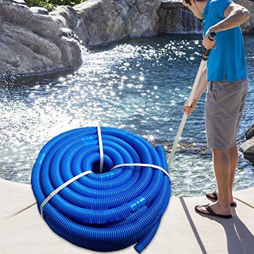 bestshop Poolschlauch, qualitativ hochwertiger Wasserschlauch für Pool und Schwimmbad, 32 mm Durchmesser, Gesamtlänge 6 m, UV- und Chlorwasser-beständig