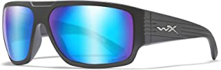 Image of Wiley X Acvls09 Wx Vallus Captivate Sunglasses- Polarized Blue Mirror