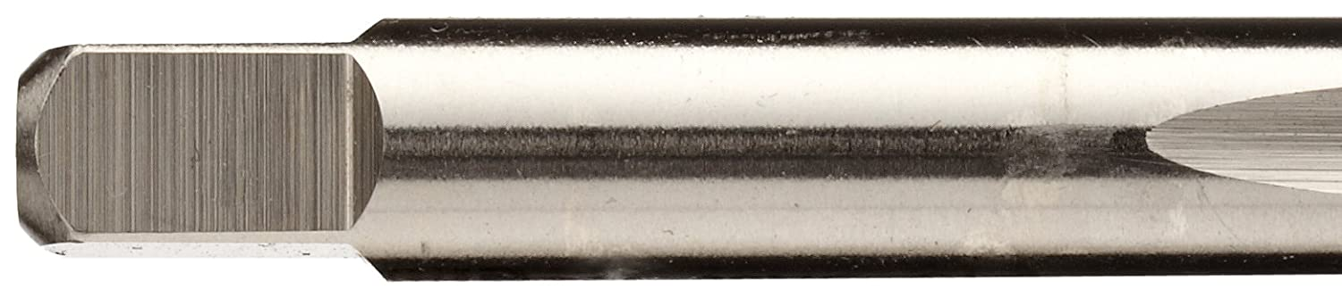 Non-Relieved Style H2 Tolerance Round Shank with Square End High-Speed Steel Spiral Point Tap 2 Flute Bright Uncoated Plug Chamfer UNC 1//4-20 Thread Size Finish Union Butterfield 1585NR