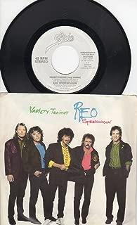 REO Speedwagon: Variety Tonight (Long 4:22 Stereo Version) B/w Variety Tonight (Short 3:43 Stereo Version)