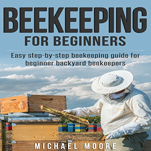 Beekeeping for Beginners audiobook cover art