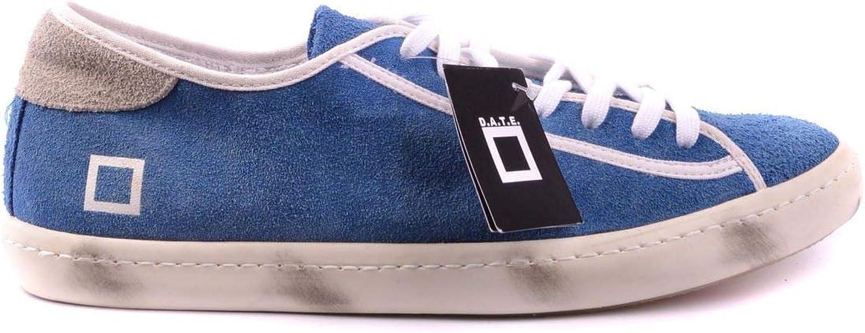 D.A.T.E. Luxury moda Uomo MCBI17542 Blu sautope da ginnastica     Stagione Outlet