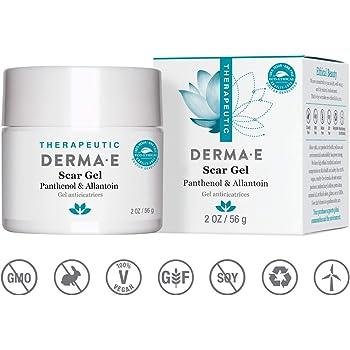 DERMA E Scar Gel, Helps Scarred Skin Heal, 2 oz