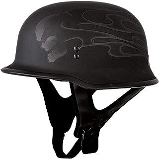 Fly Racing 9MM Helmet - Ghost Skull (Medium) (Flat Black)